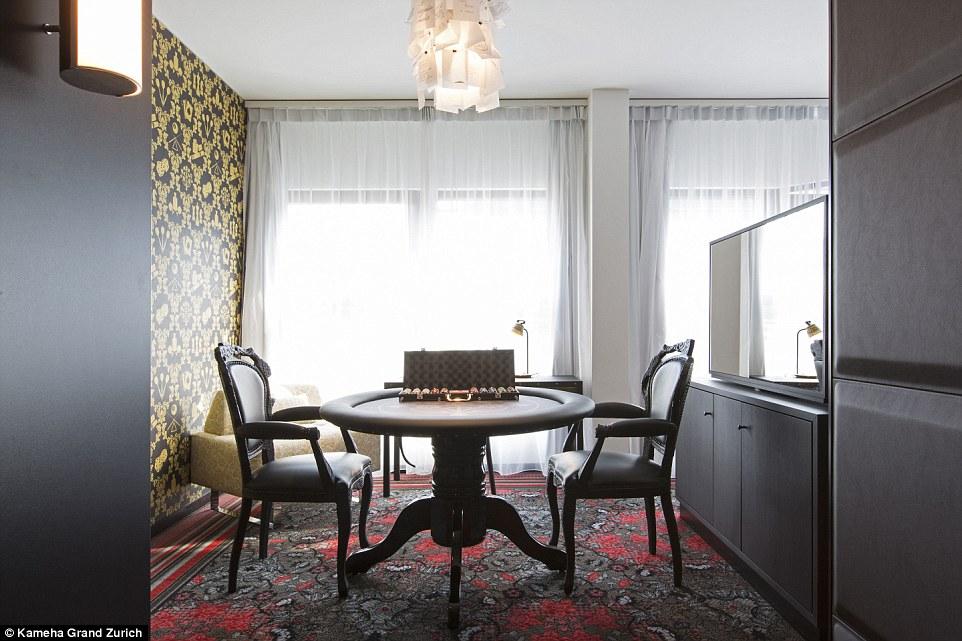 Khách sạn với những căn phòng thiết kế độc lạ ở Thụy Sĩ - 1