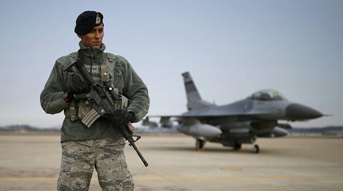 Quân đội Mỹ, Hàn trong tình trạng báo động cao nhất - 1