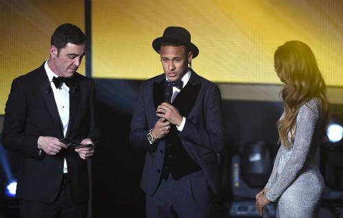 Neymar bất mãn vì chỉ nhận được Quả bóng Đồng - 1