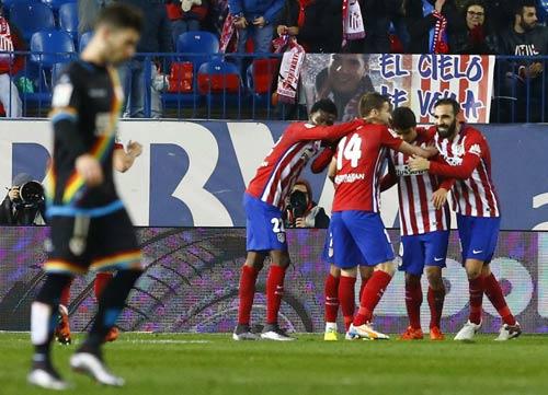 Atletico - Vallecano: Vẫn phải cậy nhờ ngôi sao - 1