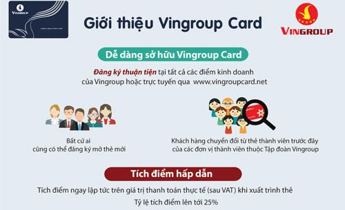 Vingroup Card - Ưu đãi ngập tràn, muôn vàn tiện lợi - 1