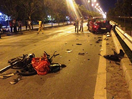 Chạy xe ngược chiều trên đại lộ, thanh niên thiệt mạng - 1
