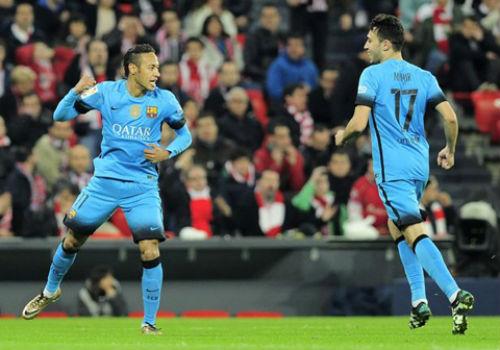 Barca thắng Bilbao, Neymar phủ nhận lăng mạ trọng tài - 1