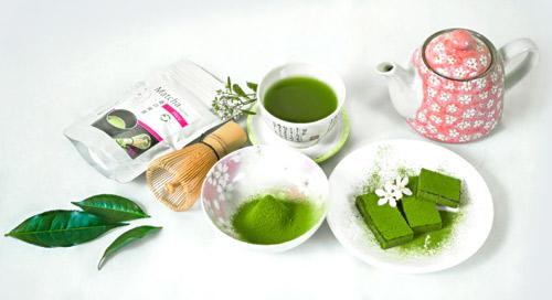 Giảm cân đón Tết cực đơn giản bằng Matcha trà xanh - 1