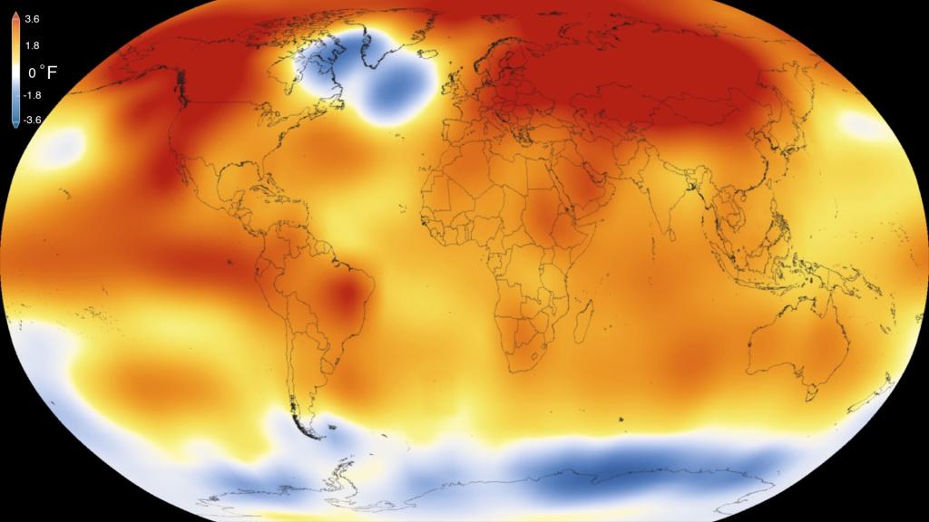 Năm 2015 nóng nhất trong 135 năm qua - 1