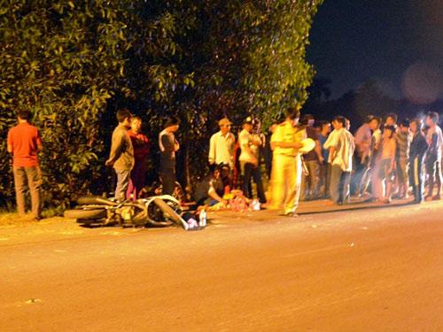 TP.HCM: Bé gái 3 tuổi tử vong dưới gầm xe tải - 1