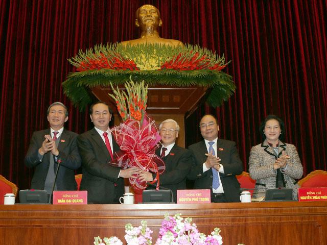 Tổng Bí thư Nguyễn Phú Trọng tái đắc cử - 1