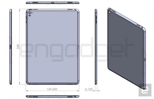 iPad Air 3 lộ thiết kế, dày hơn iPad Air 2 - 1