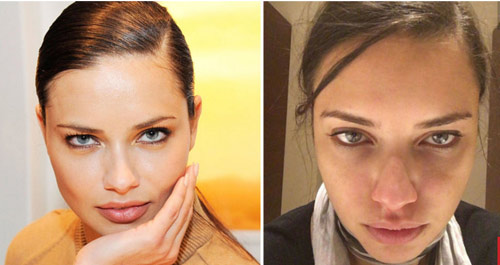 Ngắm gương mặt mộc của mỹ nhân sexy nhất Brazil - 1