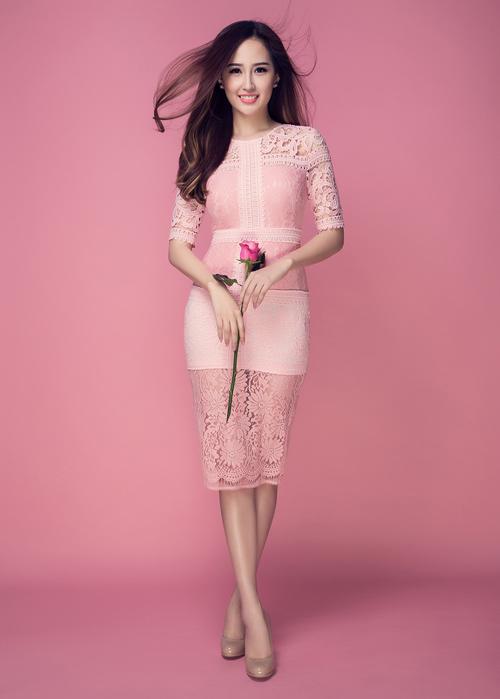 Mai Phương Thúy khoe vòng 1 tuyệt đẹp với váy ren - 10