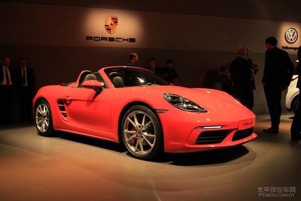 "Porsche 718 Boxster S ""sắc hồng sặc sỡ"" sắp ra mắt - 1"