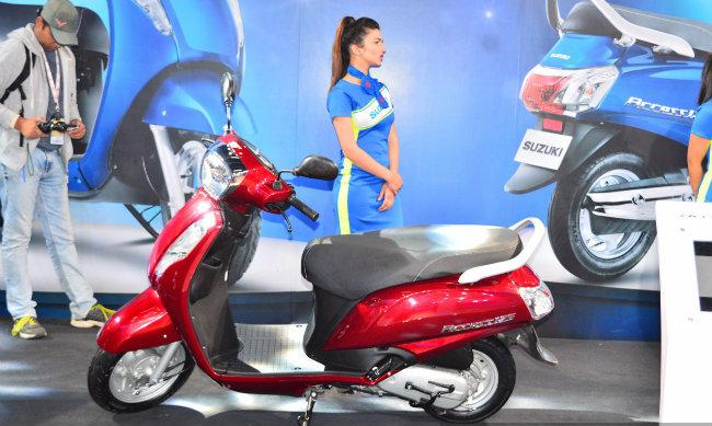 Suzuki Access 125 mới sẽ được hãng xe Nhật Bản tung ra thị trường vào ngày 15.3 tới ở Ấn Độ.