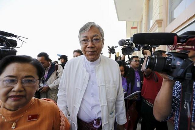 Tài xế cũ của bà Suu Kyi thành Tổng thống Myanmar - 1