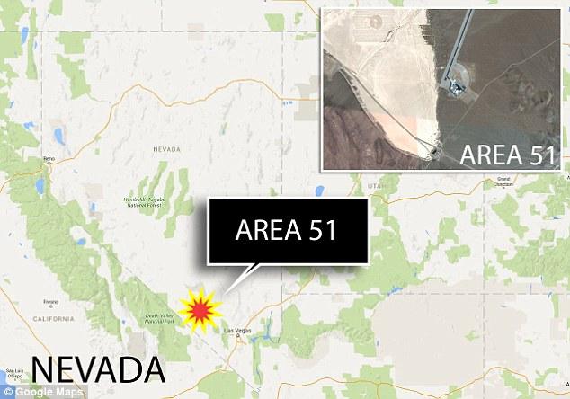 Lộ UFO trong Khu vực 51 tuyệt mật ở Mỹ? - 1