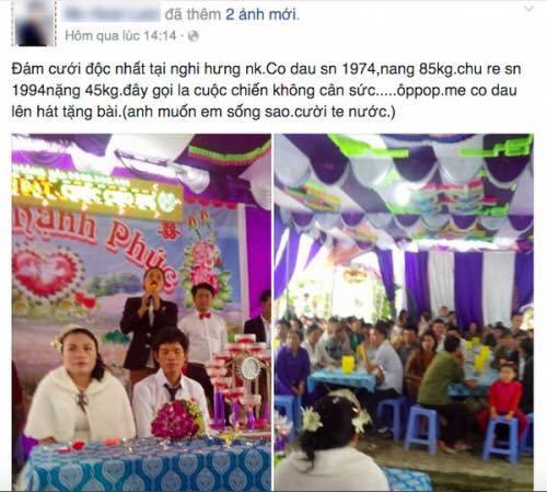 Sự thật về đám cưới cô dâu 85kg, chú rể 45kg - 1