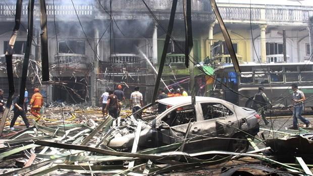 Bom nổ liên hoàn ở Thái Lan - 1