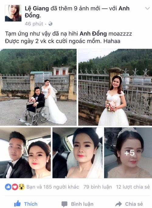Đám cưới cổ tích của gái xinh và chàng trai tàn tật - 1