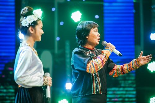 Hoàng Yến Chibi đọc rap cùng cố NSƯT Quang Lý - 1