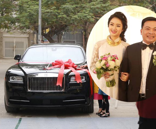 Đám cưới gây xôn xao của hoa - á hậu với toàn siêu xe - 1