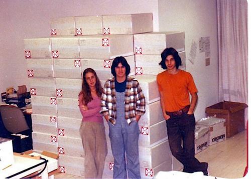 Những bức ảnh hiếm thấy của Apple thời kỳ cách đây 40 năm - 1