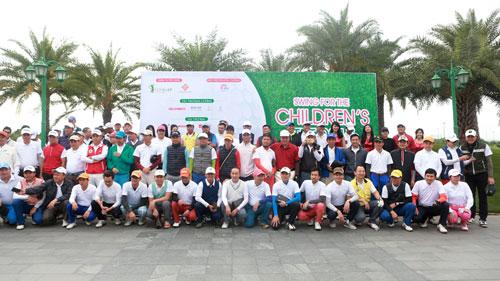 """CENGOLF tổ chức thành công giải golf """"Swing for the children's Tet 2017"""" - 1"""