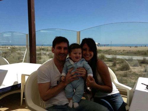 Cậu ấm của huyền thoại Messi hứa hẹn trở thành siêu sao bóng đá - 1