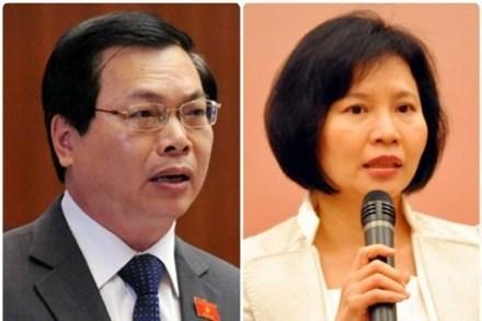 Kỷ luật ông Vũ Huy Hoàng và Thứ trưởng Hồ Thị Kim Thoa - 1