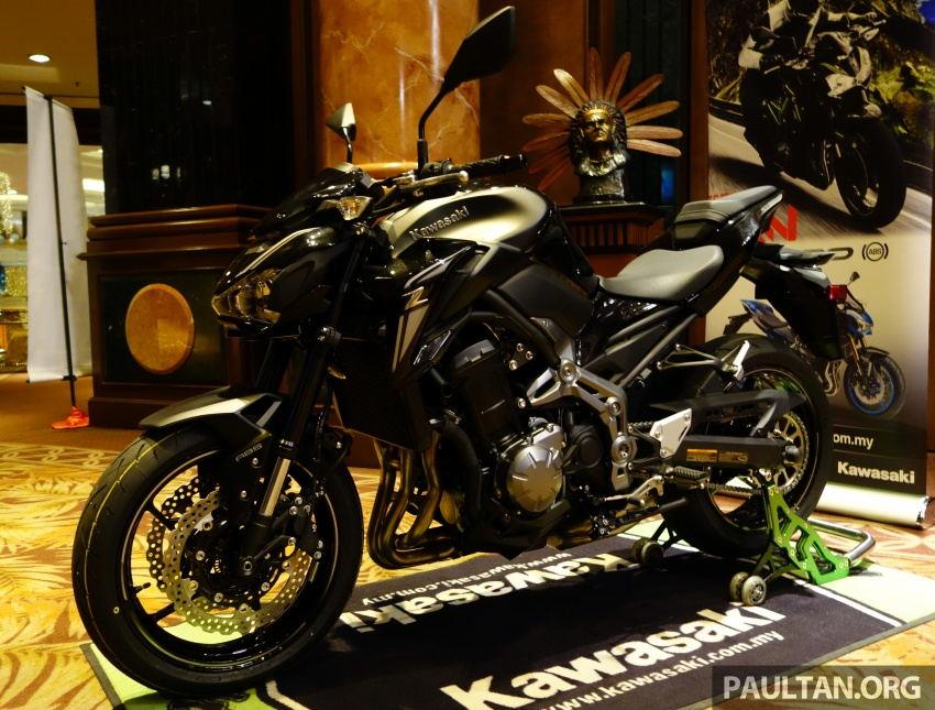 Kawasaki tung Z900 ABS, Z650 ABS, Ninja 650 và Versys-X 250 - 1