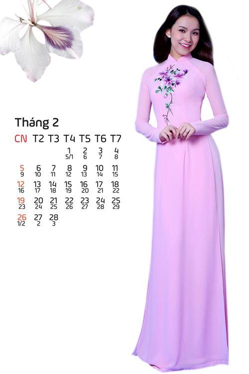 Hoa, á hậu Việt mặc gì mừng xuân Đinh Dậu? - 1