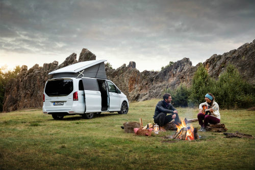 Cắm trại xuân với Mercedes-Benz Marco Polo Horizon - 1