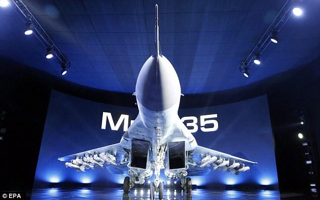 """Nga """"khoe"""" Mig-35 đời mới sau 10 năm nghiên cứu - 1"""