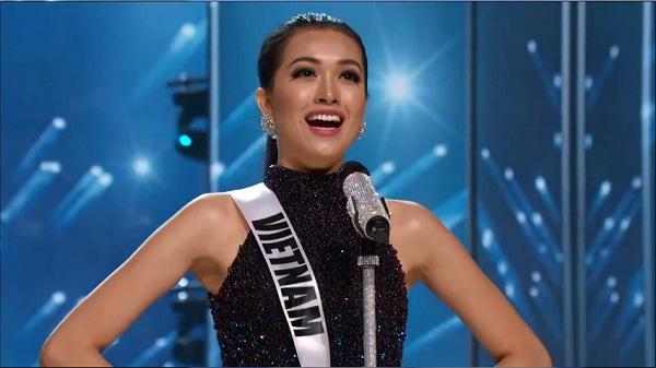 Lệ Hằng vẫn ''tự thưởng'' dù trắng tay tại Miss Universe - 1