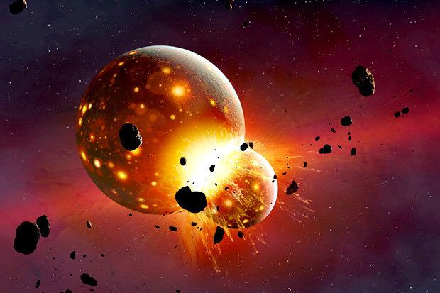 Ngày tận thế đến khi Mặt trăng đâm vào Trái đất? - 1