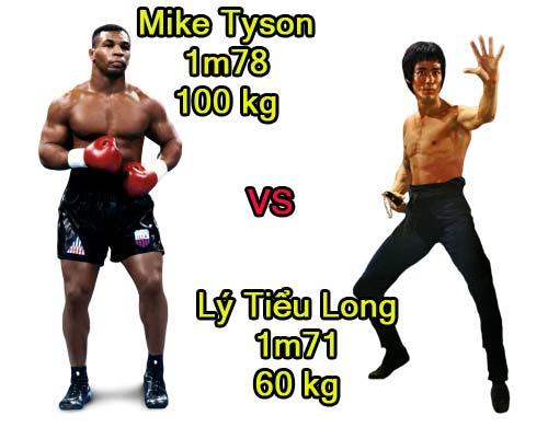 Mike Tyson đấu Lý Tiểu Long: Ăn nhau ở tốc độ - 1