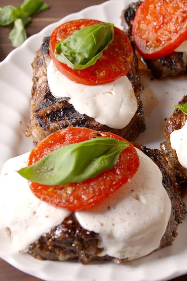 Thịt bò nướng Italia.