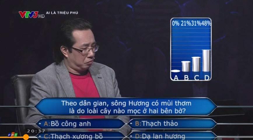 Gần 70% khán giả Ai là triệu phú trả lời sai về sông Hương - 1
