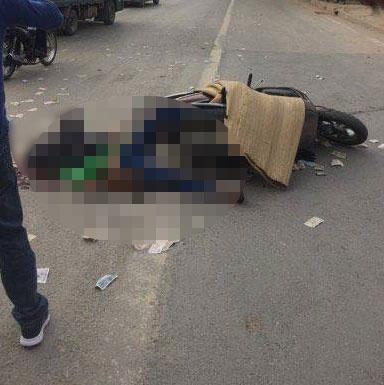 Hà Nội: Dân chặn xe bê tông cán tử vong cô gái trên phố - 1