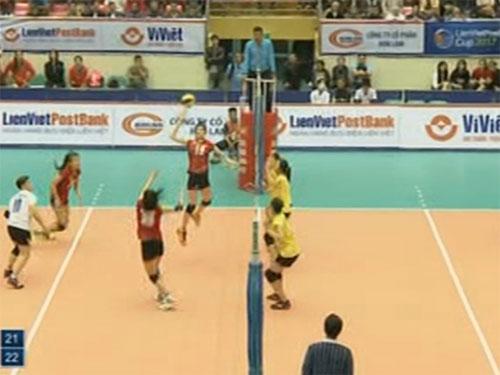 Bóng chuyền nữ cúp Liên Việt: 2 đội VN nghẹt thở tranh ngôi đầu - 1