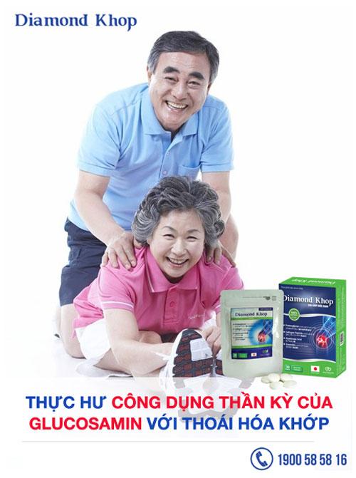 Thực hư công dụng thần kỳ Glucosamine với  thoái hóa khớp - 1
