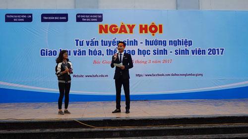Định hướng nghề nghiệp năm 2017 tại trường Đại học Nông Lâm Bắc Giang - 1