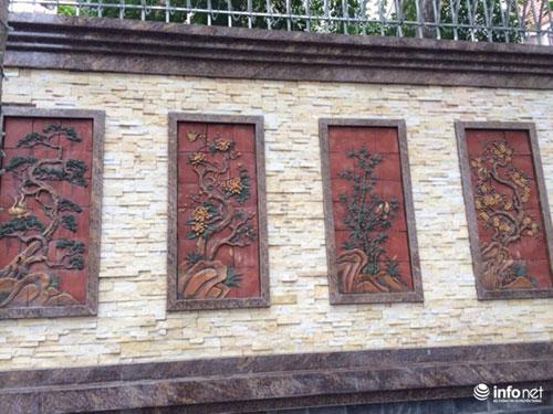 Chiêm ngưỡng cổng biệt thự, tường rào cầu kỳ của các đại gia HN - 9