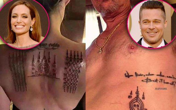 Angelina Jolie xăm hình lạ giữ hôn nhân vẫn mất chồng - 4
