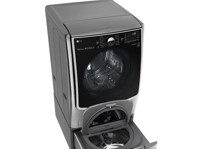 LG trình làng máy giặt lồng đôi đầu tiên
