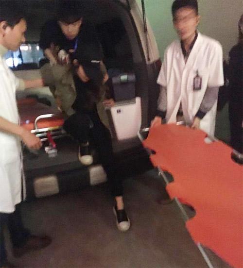 Nữ ca sĩ Hàn Quốc bất ngờ nhập viện sau đêm diễn ở HN - 1