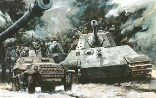Đầu bếp Liên Xô hạ gục xe tăng Đức bằng một chiếc rìu - 1