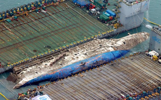 Bất ngờ với kết quả khám nghiệm phà chìm Sewol - 1