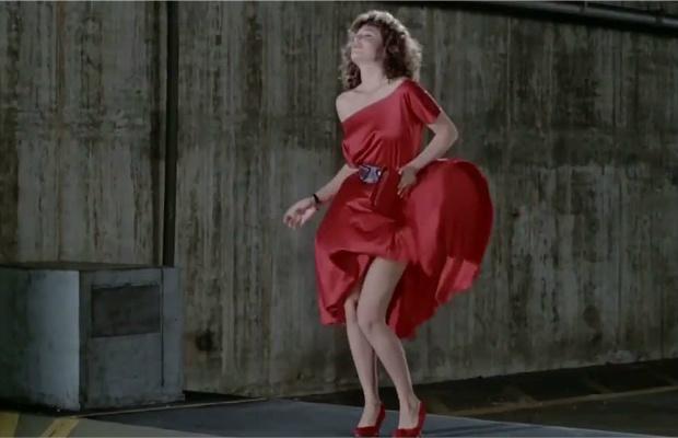 Fuck women in red dress movie