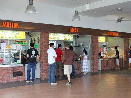 Khu ăn uống sang trọng khó tin của ĐHQG Singapore - 1