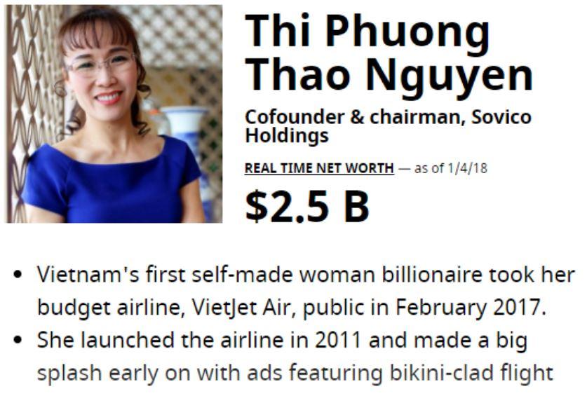 """Tài sản """"nữ tướng"""" Phương Thảo vọt lên 2,5 tỷ USD khi HDBank chào sàn - 1"""