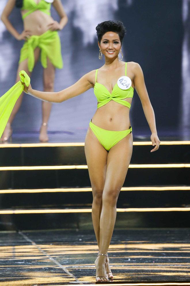 Vẻ đẹp lạ siêu sexy của cô gái Ê Đê lên ngôi Hoa hậu Hoàn vũ Việt Nam - 1